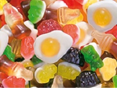 Cocktail brillo Haribo. Bolsa 1 Kg