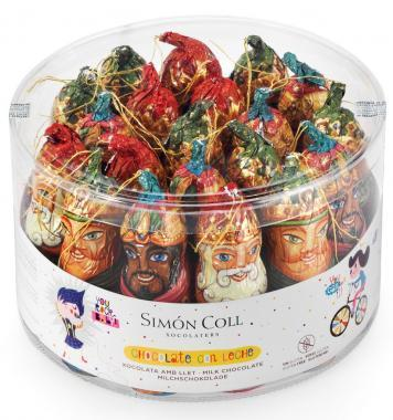 Reyes Magos Chocolate 25 grs. x 20 unidades.
